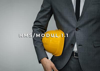 HMS/Modul 1.1